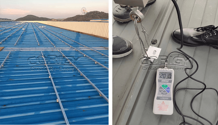 CPR-JC-01 Tin roof solar mounting system