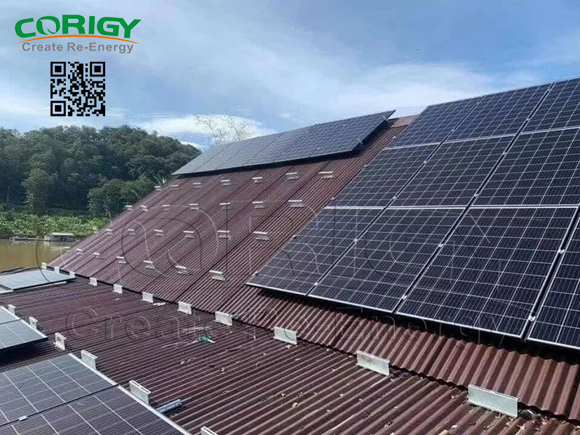CORIGY SOLAR Metal Rooftop Rail Kit