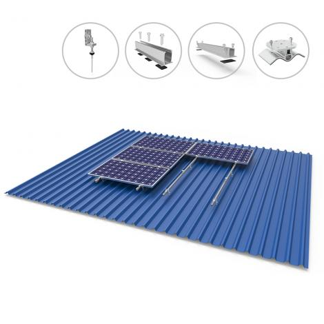 solar panel bracket for solar roof from China